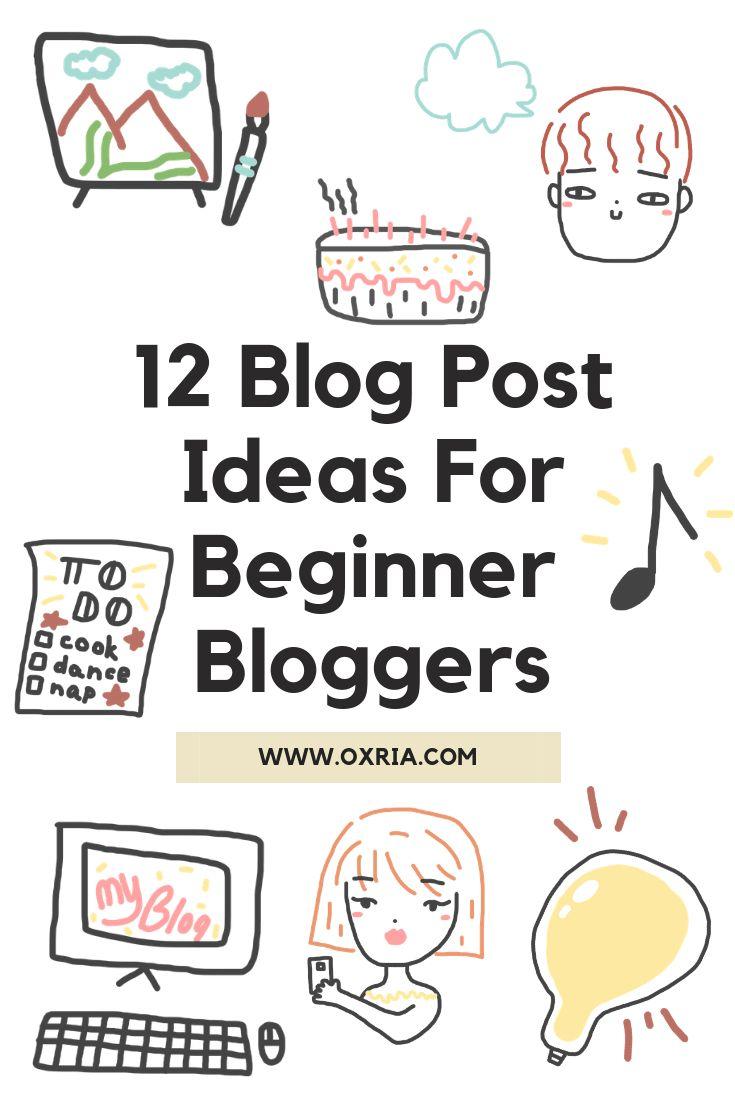 12 zusätzliche Blogpost-Ideen für Anfänger-Blogger Endlich setzen Sie sich …