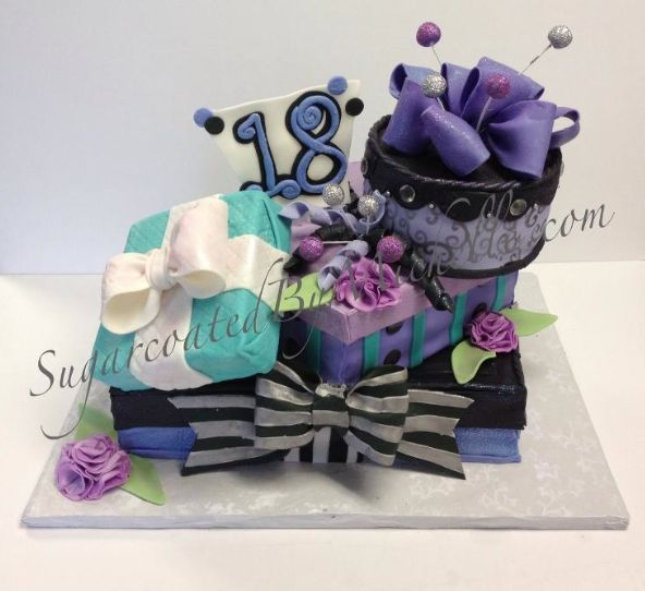 Cake Decorating Gift Experience : 35 best images about Gift an Box Cakes on Pinterest