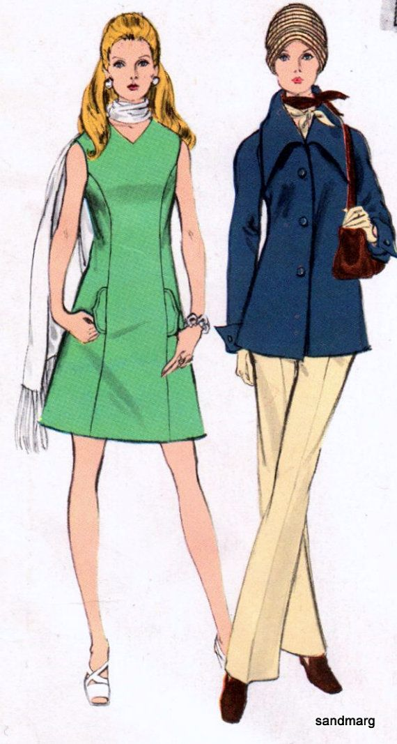 Pantaloni Vintage Vogue 2294 Couturier Design Federico di sandmarg
