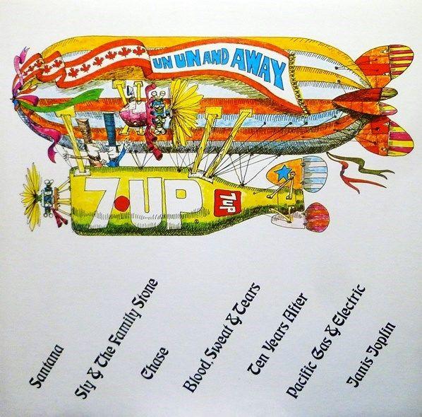 """Various - 7-UP """"Un Un & Away"""" (Vinyl, LP) at Discogs  1972/compilation"""