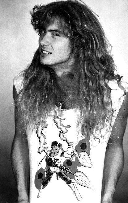 Dave Mustaine -Esta cosa llamada vida pasa tan rápidamente, un día, estas aquí y luego te has ido.