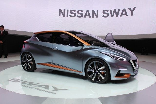 Nissan Sway Concept.(2015) On sale in 2017 ?