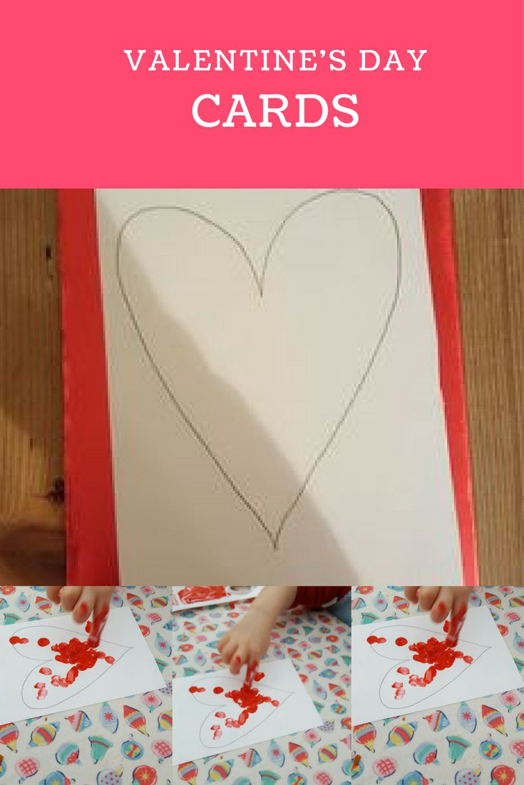 Look at how to make some easy and cute Valentine's Day cards. To see how we made them take a look at my blog.
