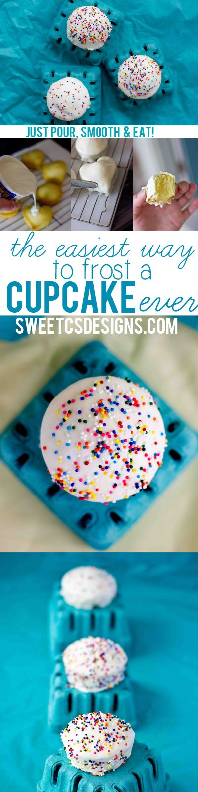 DIY The Easiest Way to Frost a Cupcake Ever