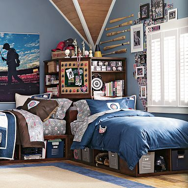 It's a nice alternative to bunk beds. Love the hidden storage space.