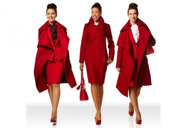 Virgin Atlantic Brings Sexy Back With Vivienne Westwood-Designed Uniforms