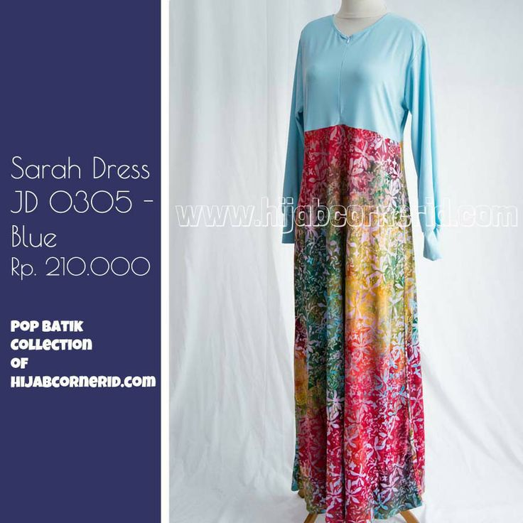 Syari dress, breasfeeding friendly by hijabcornerid