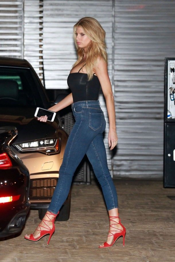 Charlotte McKinney spotted out at dinner with boyfriend Stephen Dorff at Nobu in Malibu