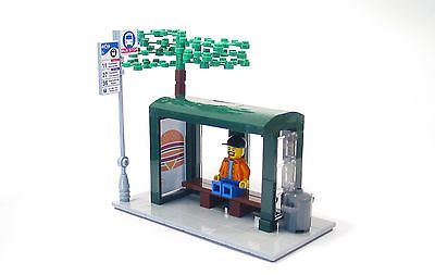 Lego Custom Bus Stop City Town in Toys & Hobbies,Building Toys,LEGO | eBay