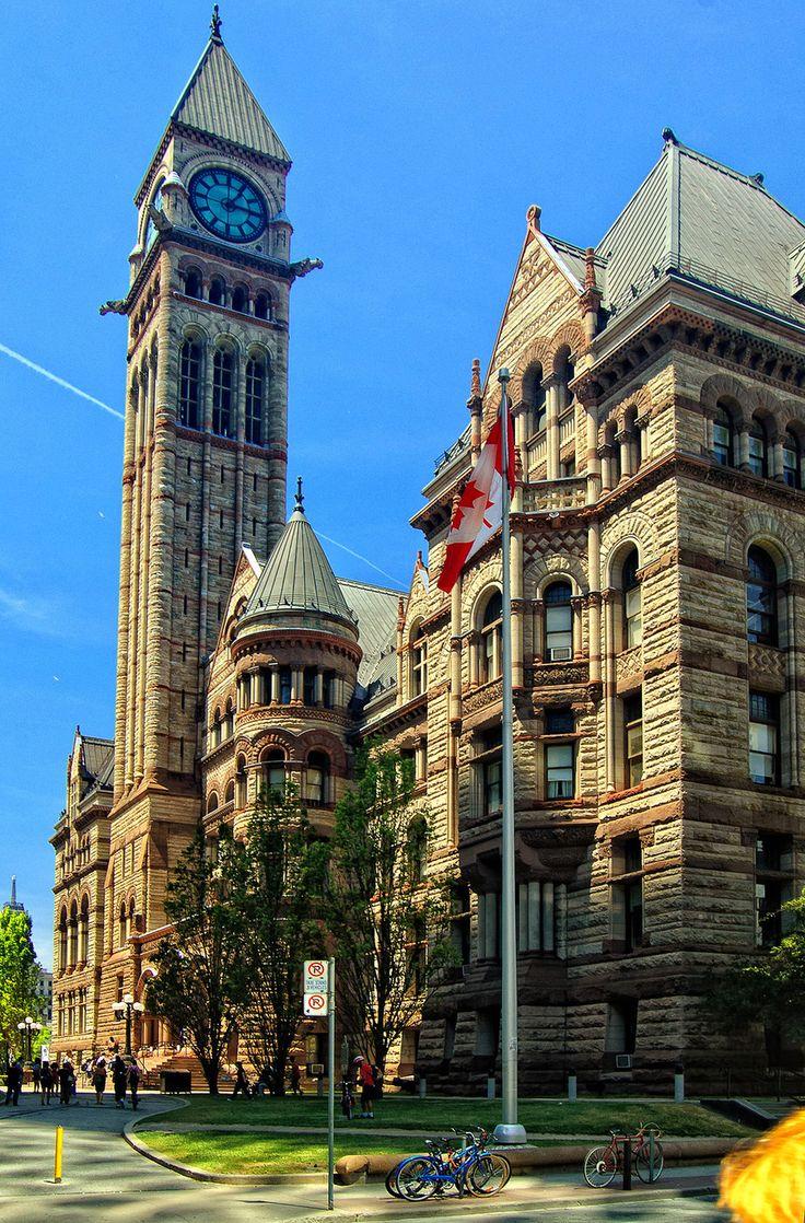 William OConnor Studios: Artist of the Month- H. H. Richardson, Old City Hall Toronto, Canada E.J. Lennox 1899, Romanesque Revival