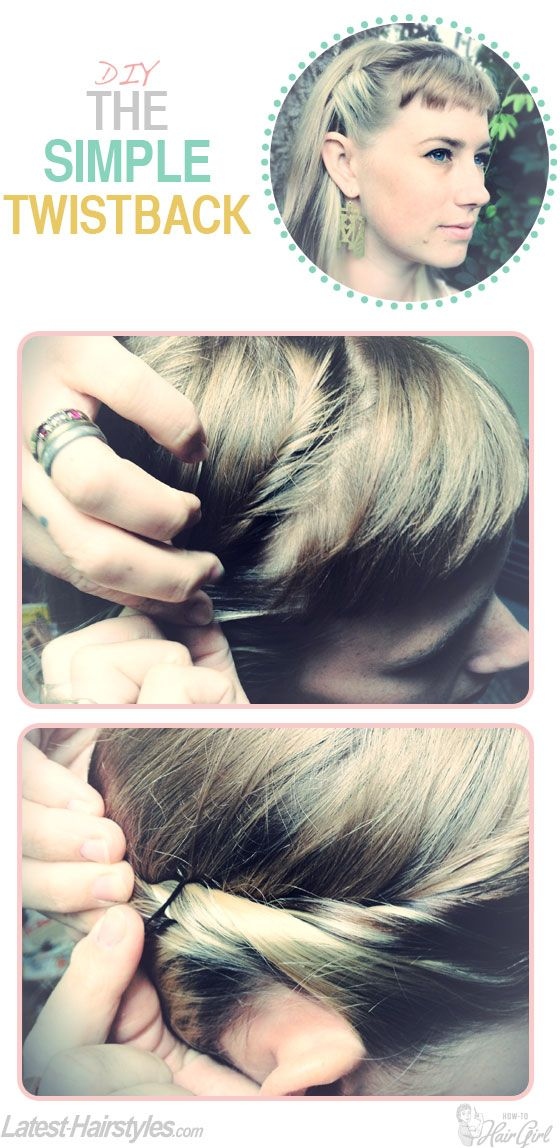Love this simple twisty tutorial from @How-To Hair - Will you try it? http://www.latest-hairstyles.com/tutorials/the-simple-twistback.html: Hair Beautiful, Hair Ideas, Simple Twisti, Hair Tutorials, Hair Makeup, Hair Style, Simple Twists, Twistback Tutorials, Simple Twistback