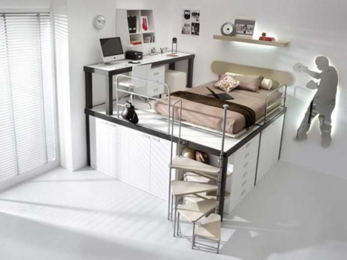Cool Bed Ideas Part - 44: Cool Bedrooms | Weird But Cool Bedroom Designs | LUUUX