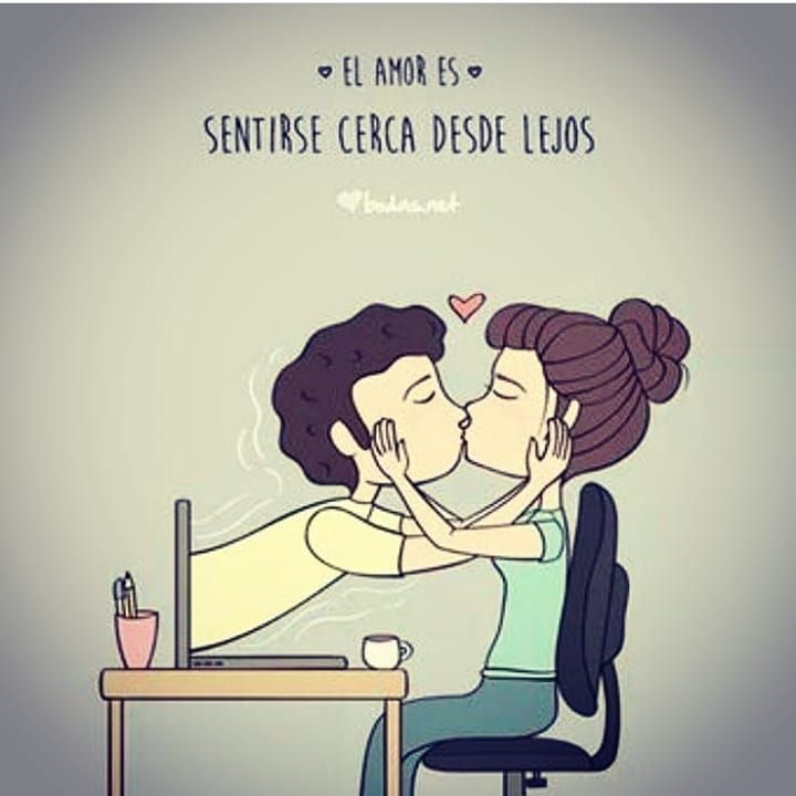El Amor Es Sentirse Cerca Desde Lejos Etiquetal Sigueme Para Mas Contenido A Diari Palabras Lindas Citas De Amor Amor