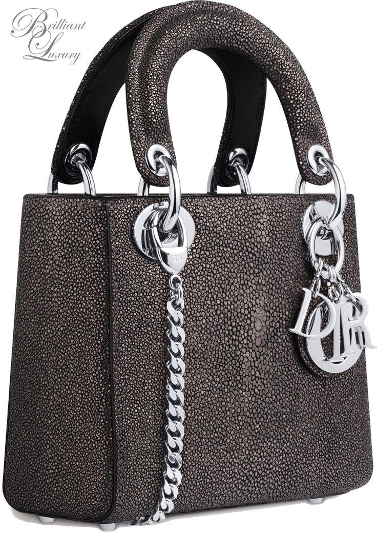 Brilliant Luxury * Dior 'Lady Bag' Fall 2015-16