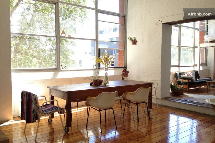 Light-Filled Warehouse Apartment in Collingwood