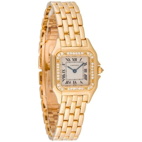 Pre-Owned Cartier Mini Panthere Watch found on Polyvore