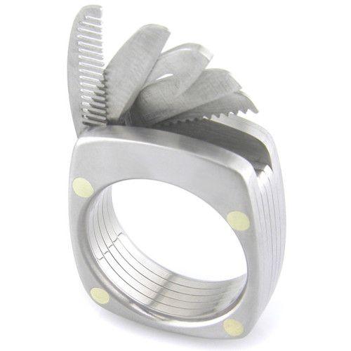 The Man Ring, A Titanium Multi-Tool Ring