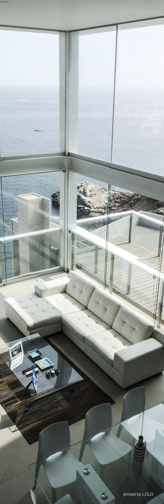 A beautiful, modern beach house IS my dream house!
