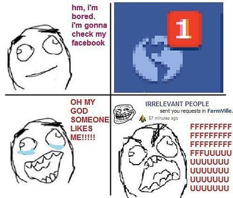 Ni admin pnye facebook skg..xde spe nk meng notification dgn gua lagi skg ni ble dah klua kolej.. 😢  #mememalaysia #punchlinetaksampai #punchline #komikmalaysia