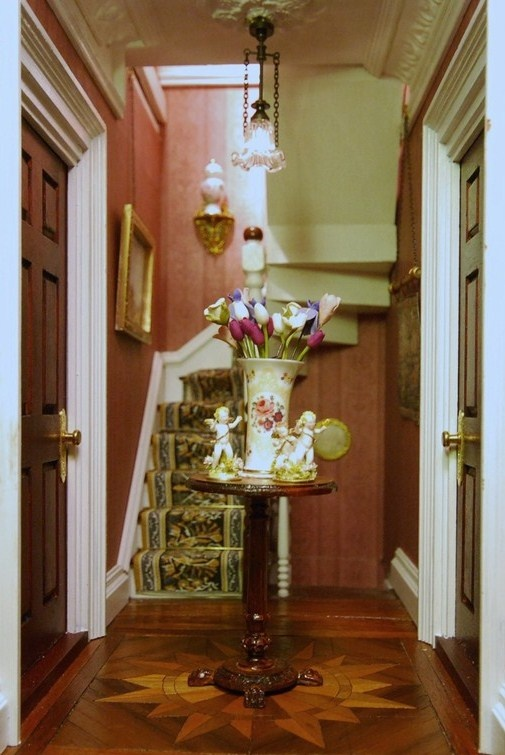 17 Best Images About Miniatures Entrance Hall Amp Stairs