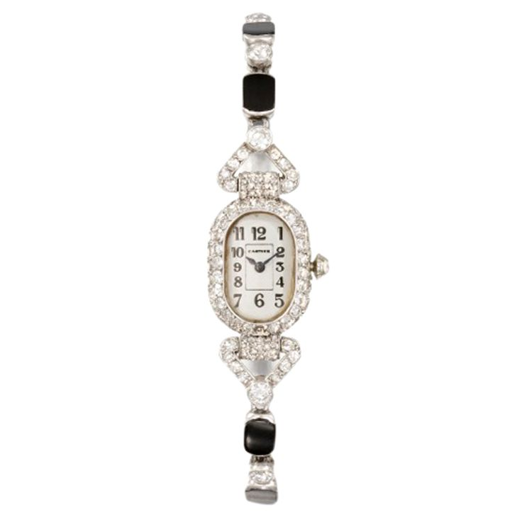 1stdibs - CARTIER Lady's Platinum Art Deco Watch explore items from 1,700  global dealers at 1stdibs.com