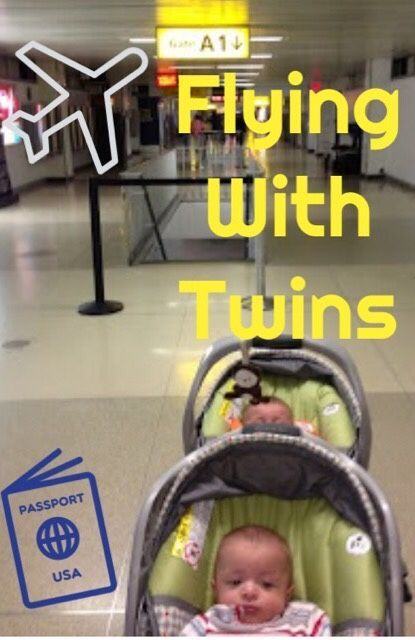 Tips for Flying with Infant or Toddler Twins