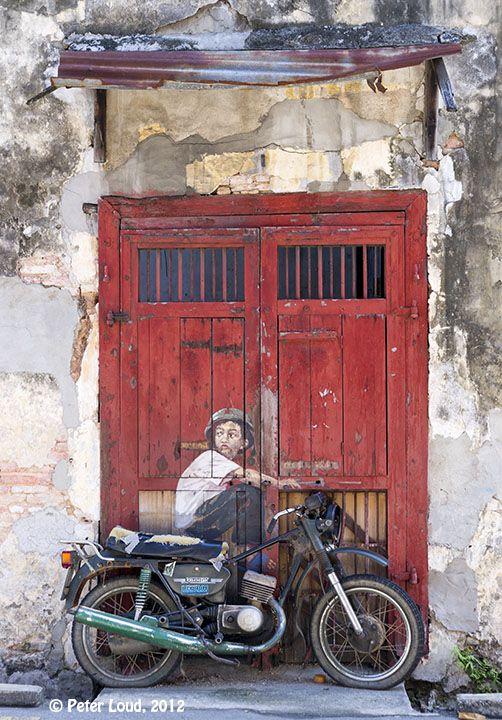 Wall Art, Doorway Lebuh Ah Quee, 2012 by Peter Loud