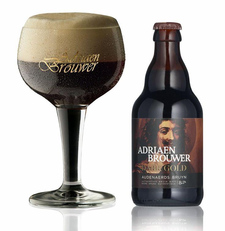 Adriaen Brouwer Dark Gold, Belgian Strong Ale 8,5% ABV (Brouwerij Roman, Bélgica) [diciembre 2017]