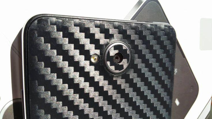 Folii Carbon 3M Black Microsoft Lumia 650