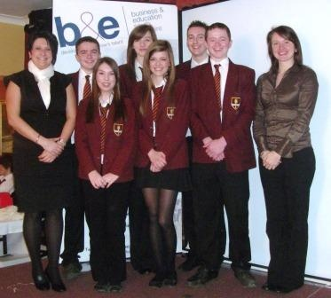 A marketing and enterprise workshop organised by the team for local school pupils.