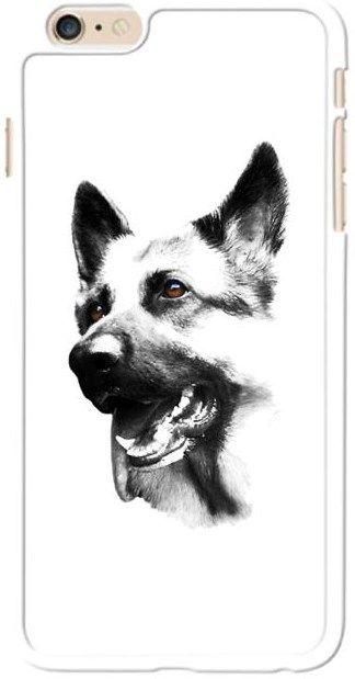 Köpekli - Alman Çoban Köpeği Kendin Tasarla - iPhone 6 Kılıfı