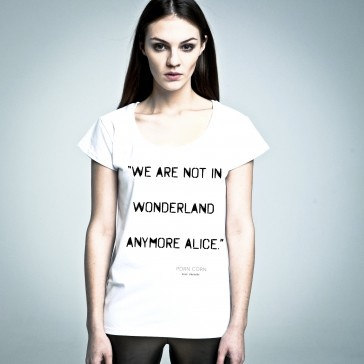 Not In Wonderland Anymore #tshirt from #PornCorn. #Awesome #tshirts by #NOH8 Syndicate! Be #original and in #fashion!