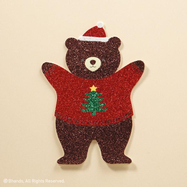 바른손그리팅스의 아기 산타 펭귄의 친구 아기 곰입니다. 메리크리스마스! Merry Christmas! #크리스마스 #성탄절 #산타 #바른손그리팅스 #카드 #곰 #Merry #Christmas #Xmas #santa #bear #Barunsongreetings #card