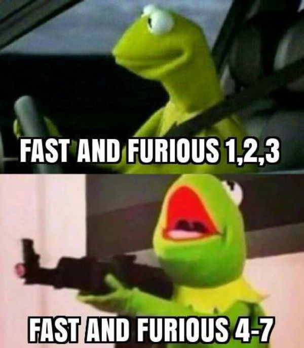 Fast And Furious - then and now. - #funny #lol #viralvids #funnypics #EarthPorn more at: http://www.smellifish.com