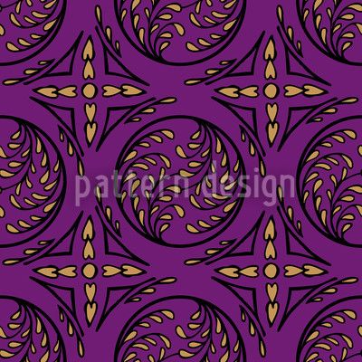 Pintoretto Pure designed by Martina Stadler, vector download available on patterndesigns.com