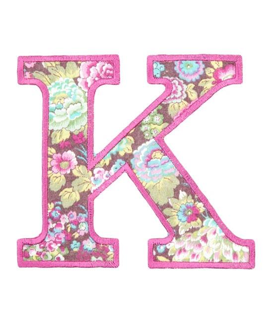 """Flower """"K"""""""