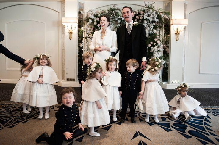 Arabella Musgrave and George Galliers-Pratt's Wedding