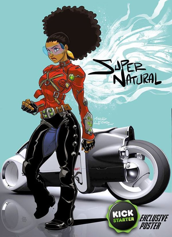 Super Natural by Marcus Williams.