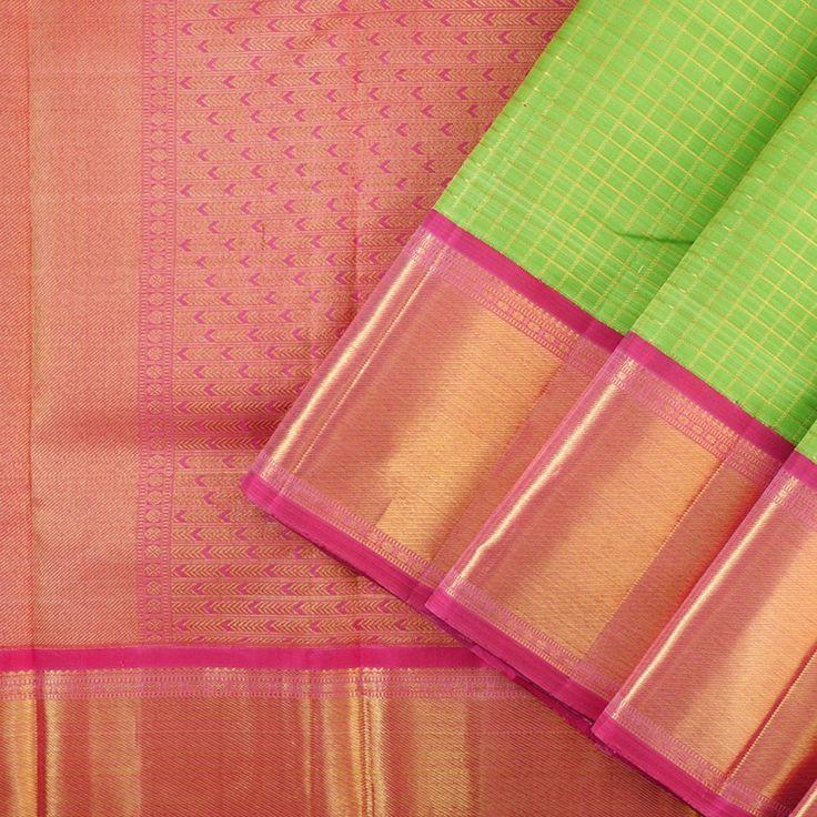 Kanakavalli Kanjivaram Silk Sari 073-01-24172 - Cover View
