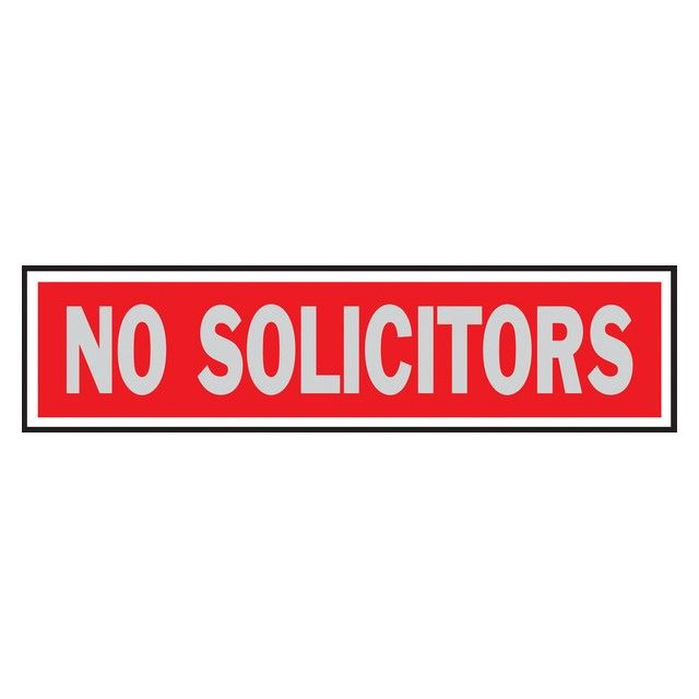 "Hy-Ko 2"" X 8"" Brushed Aluminum Finish No Solicitors Sign #homegoods #homegoodslamps #homesgoods #homegoodscomforters #luxuryhomegoods #homeandgoods #homegoodssofa #homegoodsart #uniquehomegoods #homegoodslighting #homegoodsproducts #homegoodscouches #homegoodsbedspreads #tjhomegoods #homegoodssofas #designerhomegoods #homegoodswarehouse #findhomegoods #modernhomegoods #thehomegoods #homegoodsartwork #homegoodsprices #homegoodsdeals #homegoodslamp #homegoodscatalogues #homegoodscouch…"