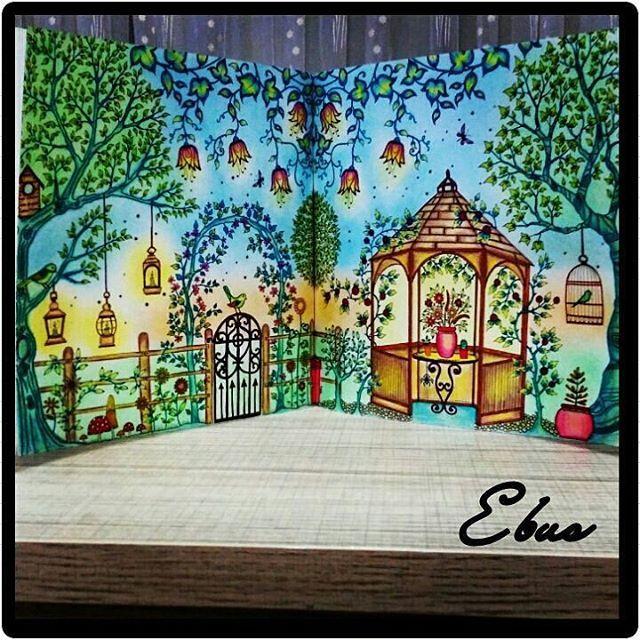 Que Lindooo Bitti Mi Ne Yaprakmis Mbarek Find This Pin And More On Secret Garden Coloring Book