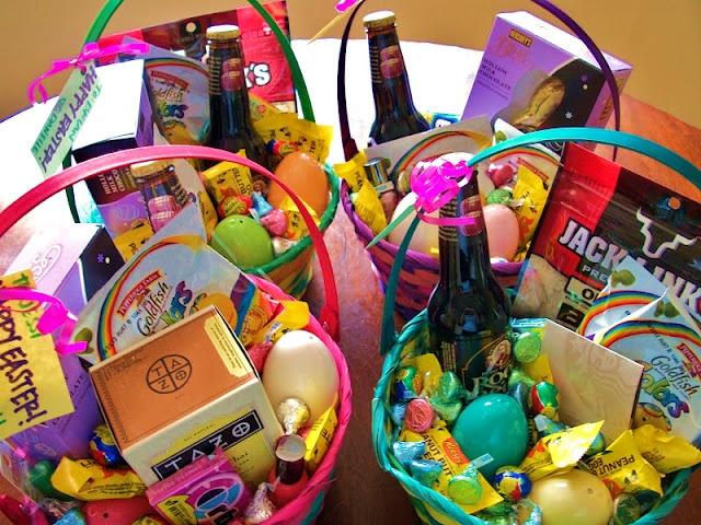 Easter baskets for big boys & girls ;)