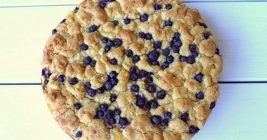 Penne im Topf: Blaubeer - Schmandcreme - Streuselkuchen