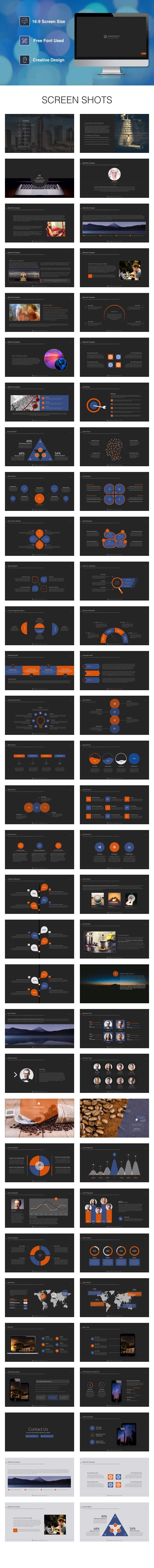 Maximus Powerpoint Template. Download here: http://graphicriver.net/item/maximus-powerpoint-template/15994370?ref=ksioks
