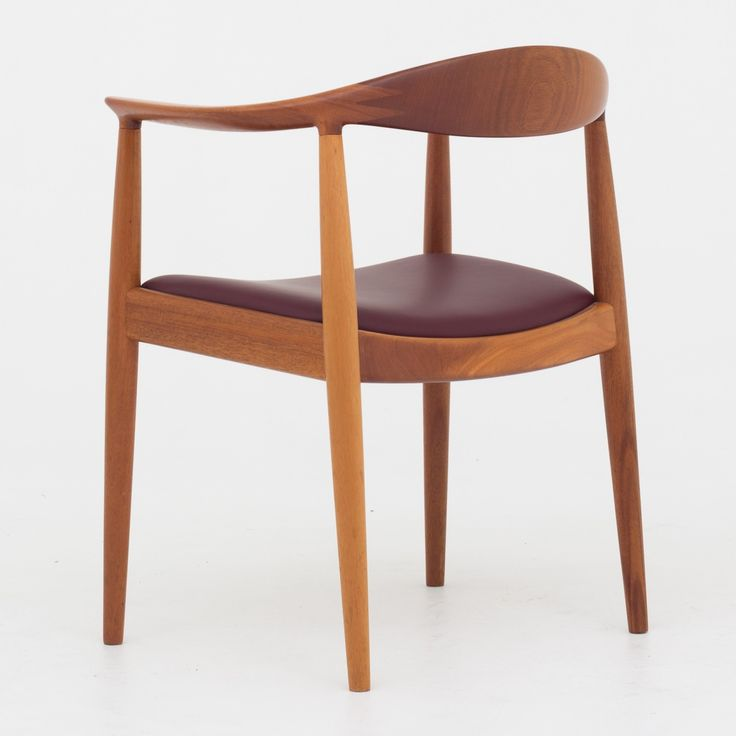 """JH 503 - """"The Chair"""" in mahogany"""