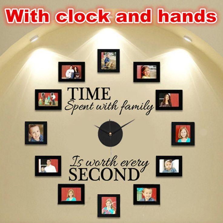 oltre 25 fantastiche idee su decorazione orologio da parete su ... - Parete Decorazione Fai Da Te