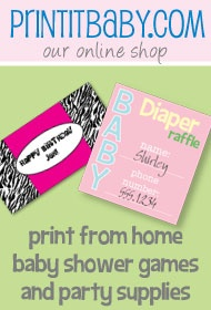 baby shower games and printables