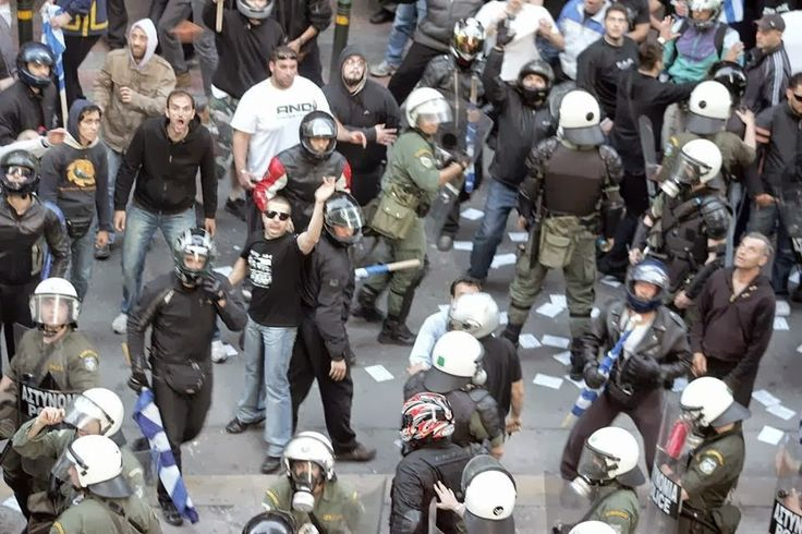 #Police two-speed. A personal view on the current events that occurred in #Greece. Read the complete article at http://one-europe.info/police-two-speed