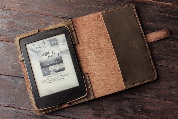 Leather Kindle Paperwhite Cover Leather Kindle Oasis Case Etsy