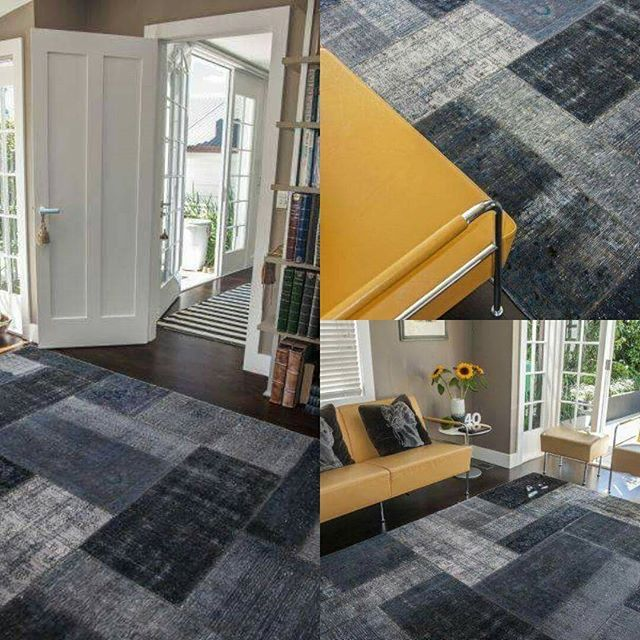 A Vintage Patchwork rug ties together the bright and breezy look of this sunny room. #vintage #vintagerugs #vintagepatchworks #patchwork  #interiordesign #sourcemondialNZ #homedecor #rugs #redesign